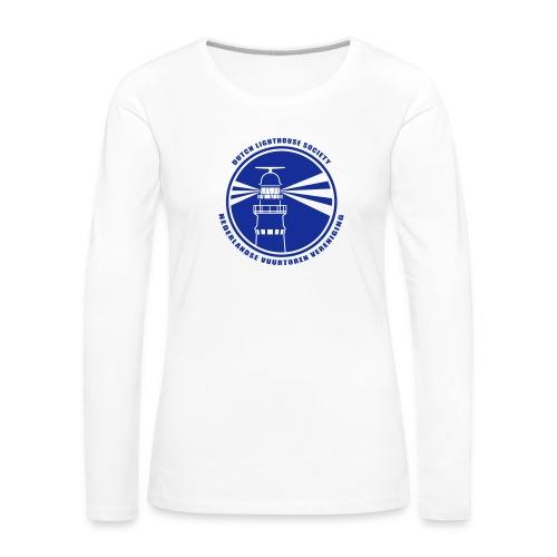 NVV Logo - Vrouwen Premium shirt met lange mouwen