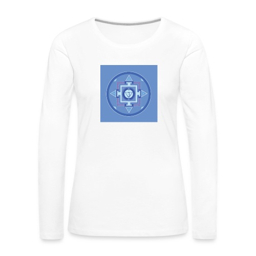 Ajna - Third Eye Chakra - Naisten premium pitkähihainen t-paita