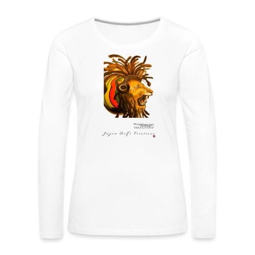 Dred Lion 7 png - Women's Premium Longsleeve Shirt