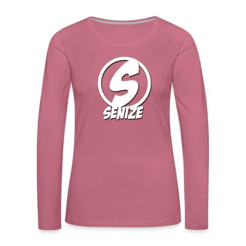 Senize voor vrouwen - Vrouwen Premium shirt met lange mouwen