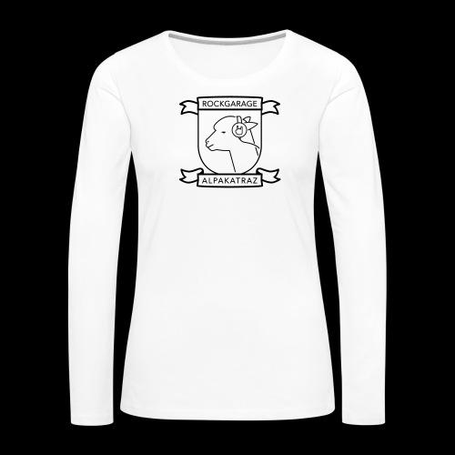 Rockgarage Alpakatraz - Frauen Premium Langarmshirt