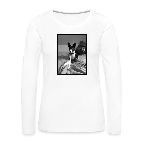 Piratethebasenji - T-shirt manches longues Premium Femme