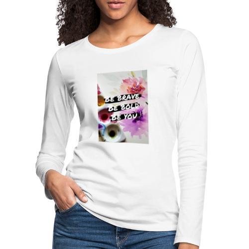 Citation collection - N1 - T-shirt manches longues Premium Femme