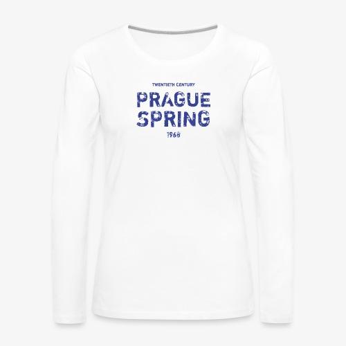 Prague Spring - Maglietta Premium a manica lunga da donna