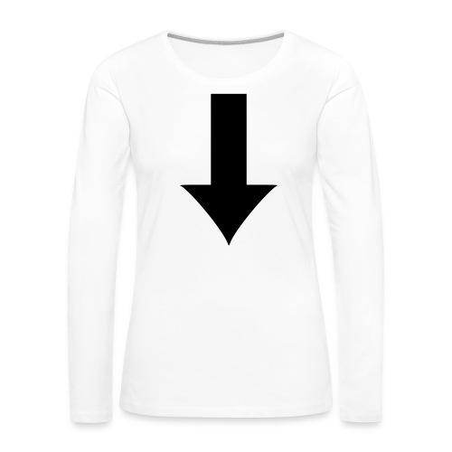 Arrow - Långärmad premium-T-shirt dam