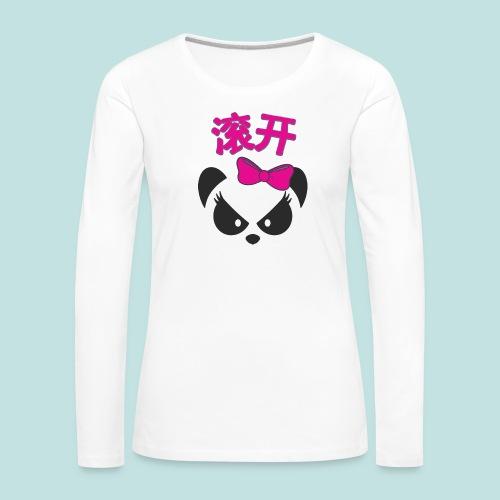 Sweary Panda - Women's Premium Longsleeve Shirt