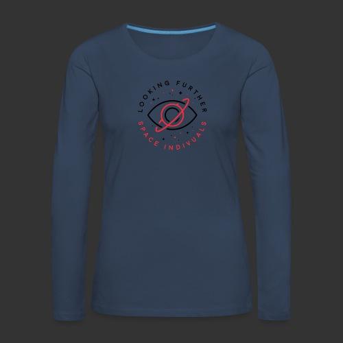 Space Individuals - Looking Further White - Women's Premium Longsleeve Shirt