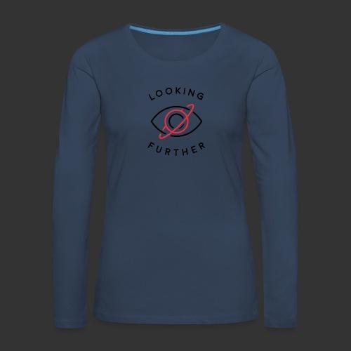 Looking Farther - White - Women's Premium Longsleeve Shirt