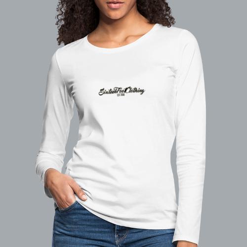 SixteenFootClothing EST 2018 - Women's Premium Longsleeve Shirt