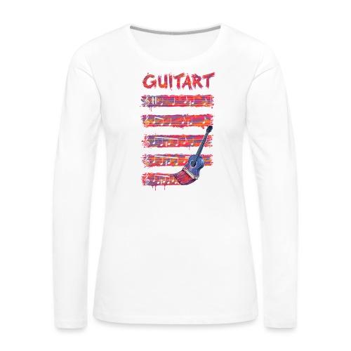 GuitArt - Women's Premium Longsleeve Shirt