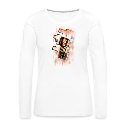 Blurry NES - Women's Premium Longsleeve Shirt