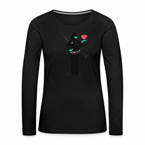 Nuestras Heroinas. - Camiseta de manga larga premium mujer