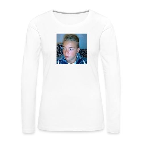 Fan Tröja - Långärmad premium-T-shirt dam