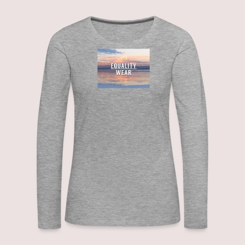 Mountain Equality Edition - Women's Premium Longsleeve Shirt