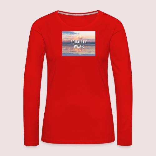 Mountain Equality Edition - Women's Premium Longsleeve Shirt