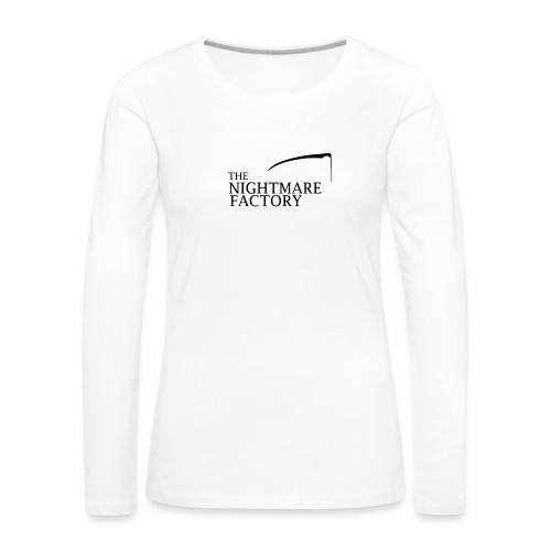 nightmare factory Nero png - Women's Premium Longsleeve Shirt