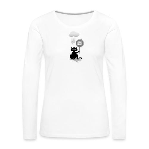 Good Luck - Frauen Premium Langarmshirt