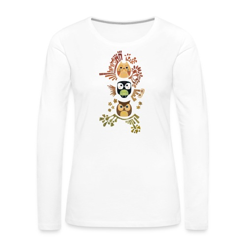 Good Wise Owls - Frauen Premium Langarmshirt