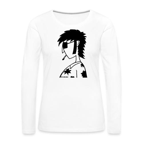 hippie - Frauen Premium Langarmshirt