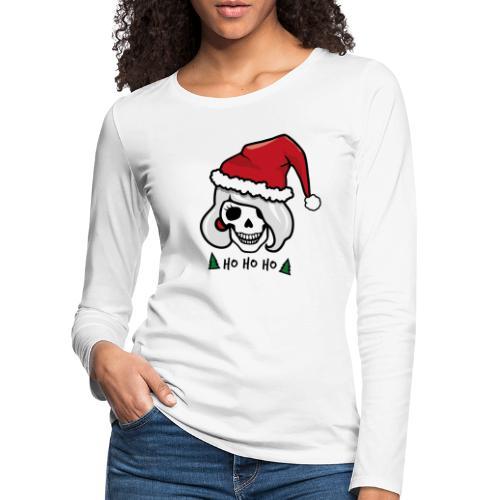 Rockabilly Weihnachten - Frauen Premium Langarmshirt