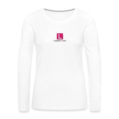 laughterdown official - Women's Premium Longsleeve Shirt