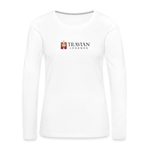 Travian Legends Logo - Women's Premium Longsleeve Shirt
