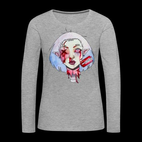 Violence - T-shirt manches longues Premium Femme