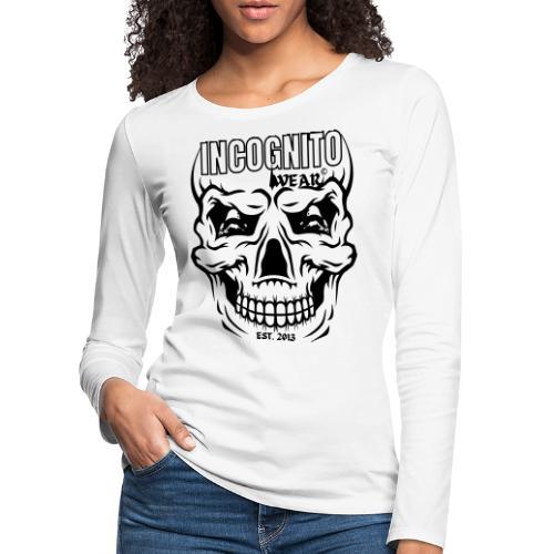 LOGO CZACHA INCOGNITO© - Koszulka damska Premium z długim rękawem