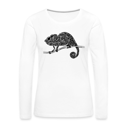 Chameleon - cameleon - T-shirt manches longues Premium Femme