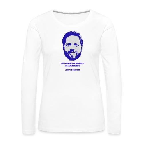 Horntvedt - Premium langermet T-skjorte for kvinner