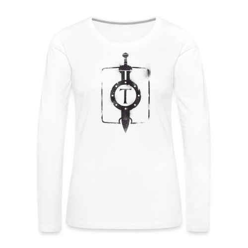 travian_legends_shield_b - Women's Premium Longsleeve Shirt