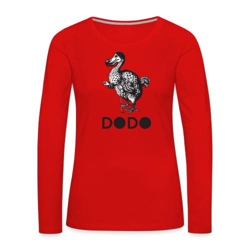 DODO TEES ALICE IN WONDERLAND - Maglietta Premium a manica lunga da donna