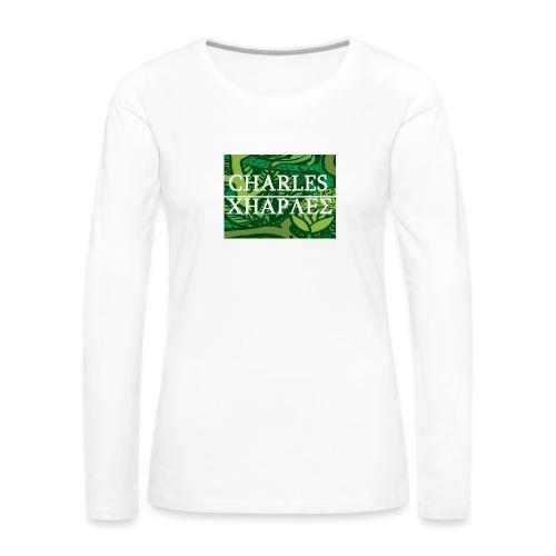 CHARLES CHARLES JUNGLE PRINT - LIMITED EDITION - Women's Premium Longsleeve Shirt