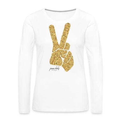 peacebabyRKG png - Frauen Premium Langarmshirt