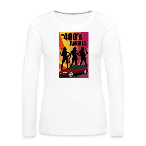 480's Angels - T-shirt manches longues Premium Femme