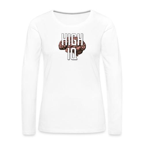 XpHighIQ - T-shirt manches longues Premium Femme