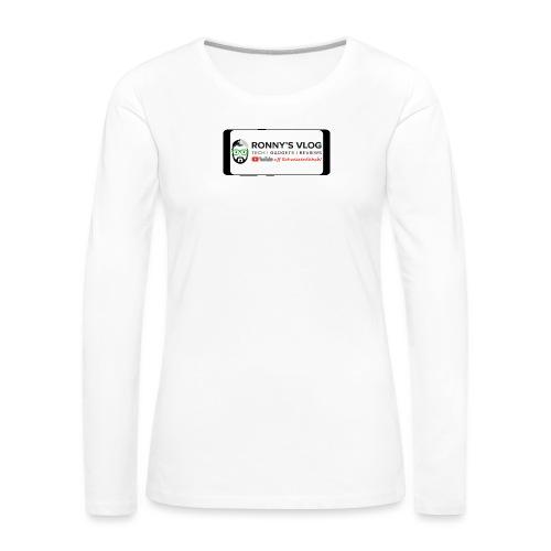 Galaxy S8 by Ronny's Vlog - Frauen Premium Langarmshirt