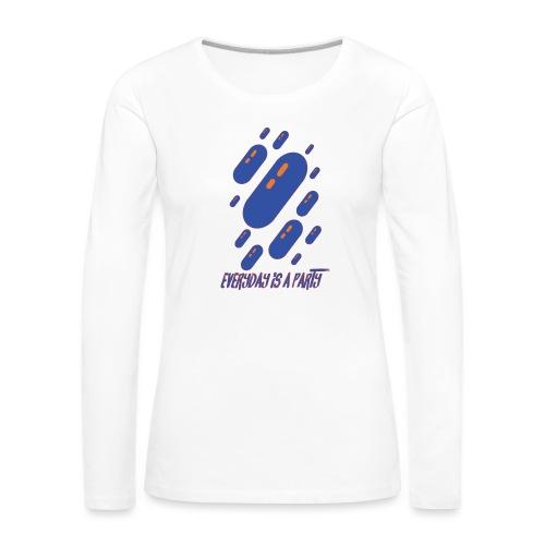 party day - T-shirt manches longues Premium Femme