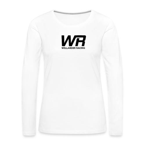 WRRACING - Långärmad premium-T-shirt dam