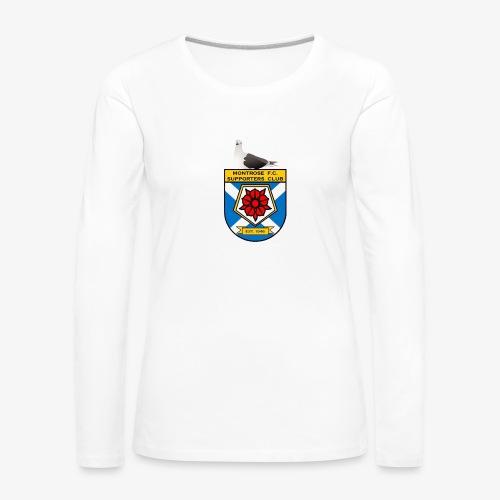 Montrose FC Supporters Club Seagull - Women's Premium Longsleeve Shirt