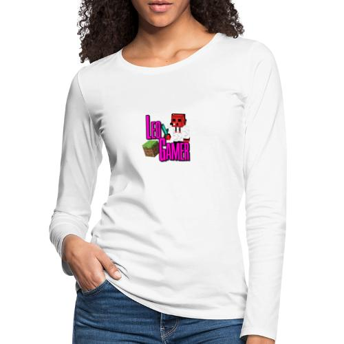 LeoGamer Minecraft - Women's Premium Longsleeve Shirt