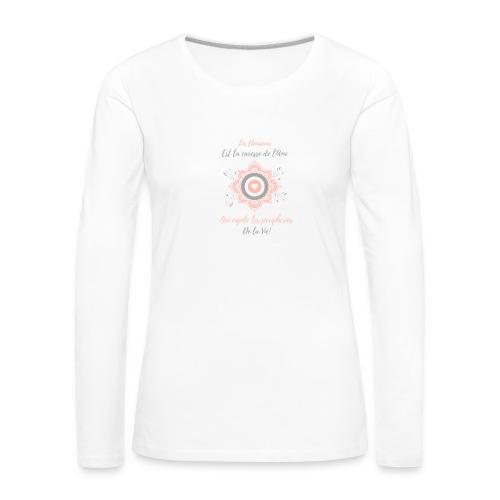 Douceur - T-shirt manches longues Premium Femme