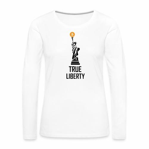 True liberty - Women's Premium Longsleeve Shirt