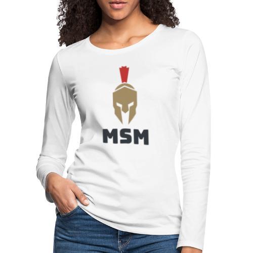 MSM Warrior - Dame premium T-shirt med lange ærmer