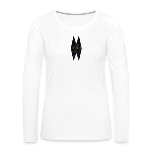 MELWILL black - Women's Premium Longsleeve Shirt