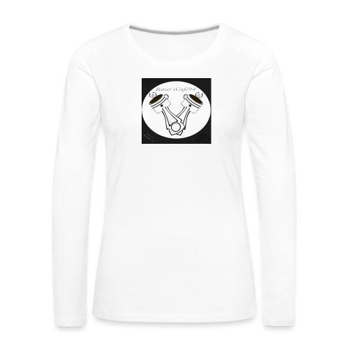 Racer'sCafe94 LOGO - Maglietta Premium a manica lunga da donna