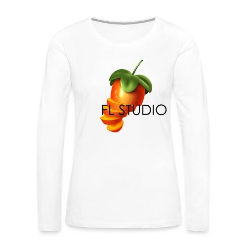 Sliced Sweaty Fruit - Women's Premium Longsleeve Shirt