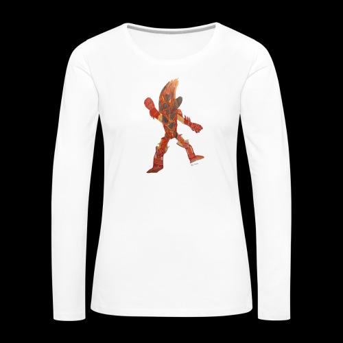 Fire Blast Show Star BY TAiTO - Naisten premium pitkähihainen t-paita