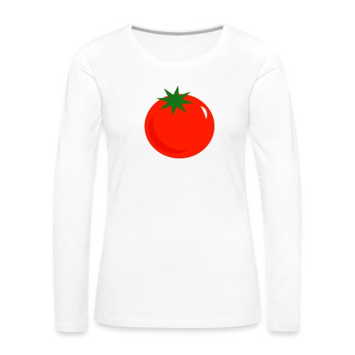 Tomate - Camiseta de manga larga premium mujer