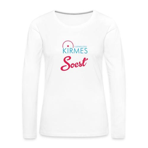 die Allerheiligenkirmes in Soest - Frauen Premium Langarmshirt